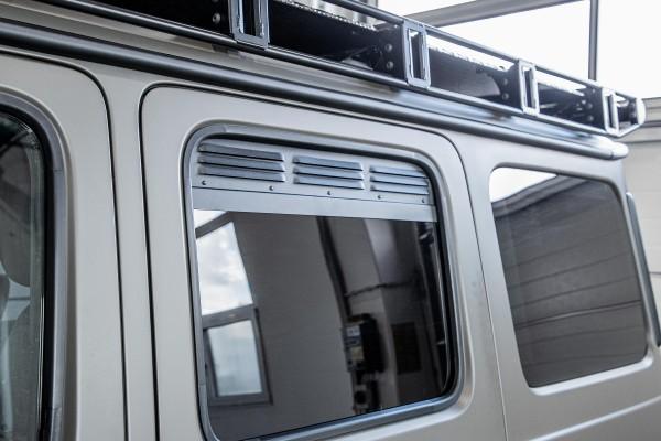 fresh air grid rear windows (pair) Mercedes G 463A from year 2018 on