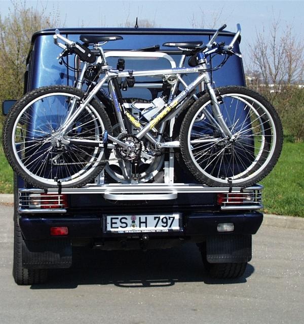 Gringo Fahrradheckträger für 2 Fahrräder, abschließbar