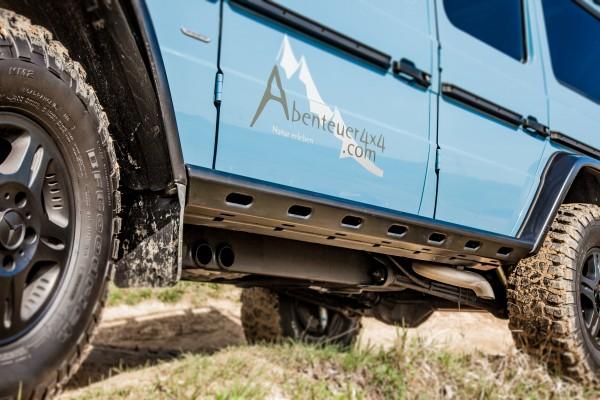 """Rockslider """"G-Slide"""" for Mercedes G class, long wheel base, till model 2018"""