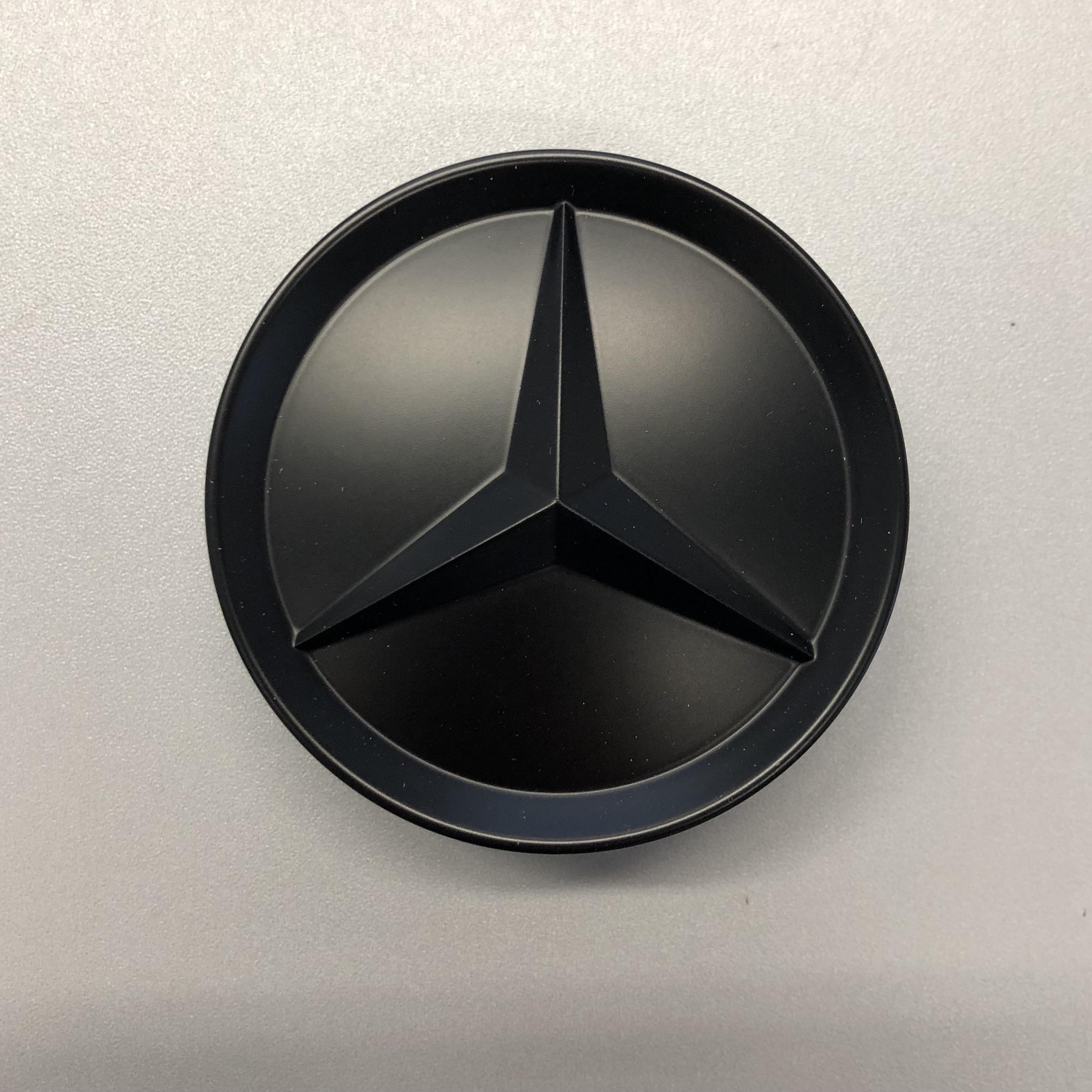Nabendeckel schwarz für Mercedes Alufelge