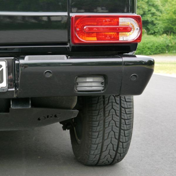 Heckleuchtenschutzgitter schwarz (Paar) für Nebel-und Rückfahrlicht G 463 bis Modell 2018