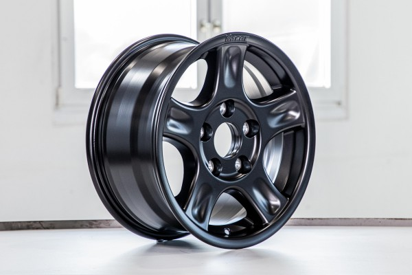 alloy wheel 'RACER' 8x16 off set +40, black Mercedes W463