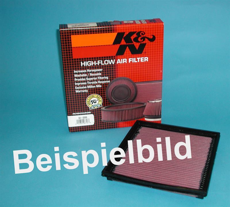 K & N Luftfilter, Mercedes 300 GE, 170 PS, Benziner