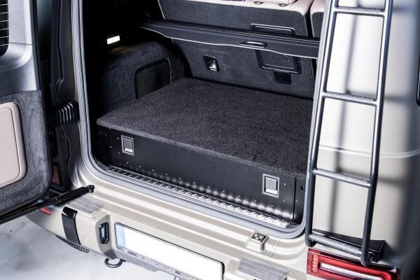 Schublade im Kofferraum, Mercedes G ab Modelljahr 2019 (W463A)