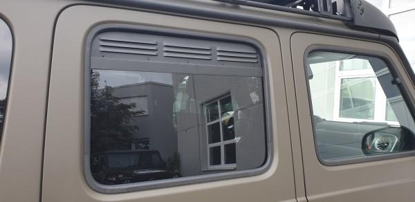 Frischluftgitter Seitenfenster hinten Mercedes G 463A, ab Modell 2018 (Satz)