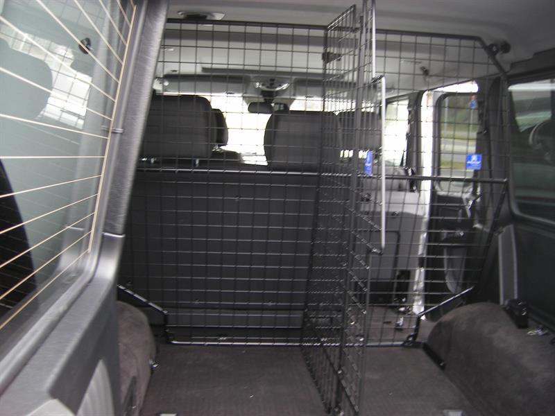 Trenngitter variabel passend für Transportschutzgitter Mercedes G463A Art.-Nr. 95-140