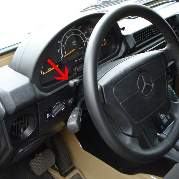 ORC Tempomat Nachrüstsatz für Mercedes G 461 PUR/Professional