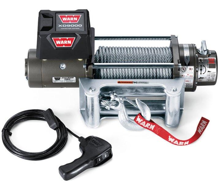 WARN Seilwinde XD 9000, 12 V Zugkraft 4.100 kg