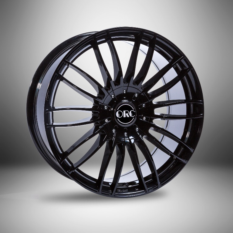 LM-Felge 9x20 ET+35, schwarz Mercedes W463 und W463A