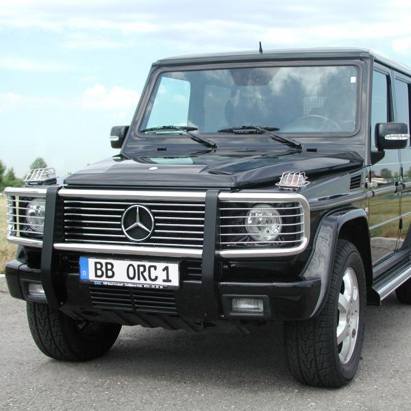 Frontschutzbügel Mercedes G500, G350BlueTec, G350d Prof. ab Modell 2016 bis Modell 2018
