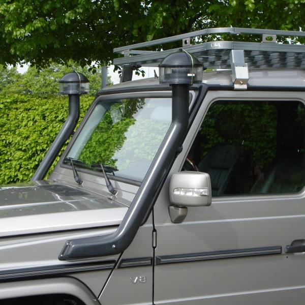 Luftansaugsystem Mercedes G500/G320cdi/G350cdi/G320 V6/G400cdi/G63/G65 rechts+links, inkl. Zyklonfil