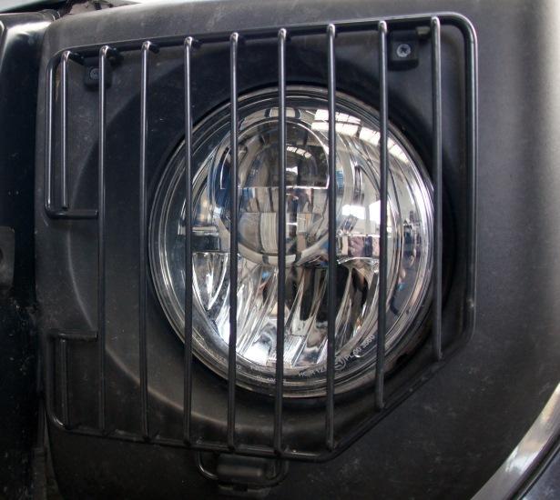 Scheinwerfergitter Mercedes G 460/461 + PUR/Professional, schwarz (Paar)