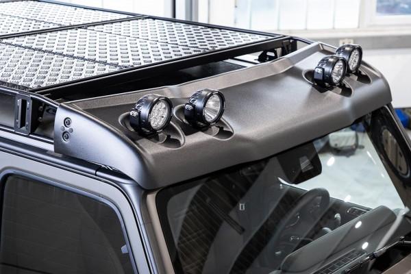 Windabweiser für Dachgepäckträger Artikelnr.: 1018254, Mercedes G 463A ab Modelljahr 2019