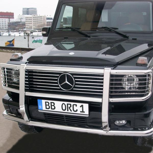 Frontschutzbügel abklappbar Mercedes G 463 bis 07/2012, kompl. Edelstahl