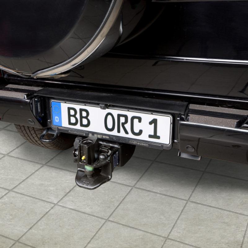Bolzenkupplung für ORC Anhängebock oder ORC-Frontaufnahme mit oder ohne Varioblock