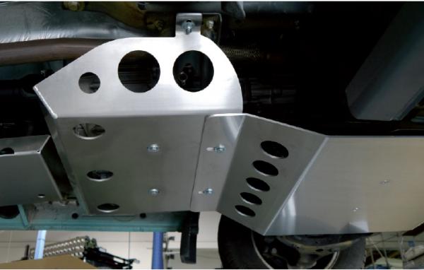 Sprinter BR906 4x4 Unterfahrschutz für Verteilergetriebe, 6mm Aluminium
