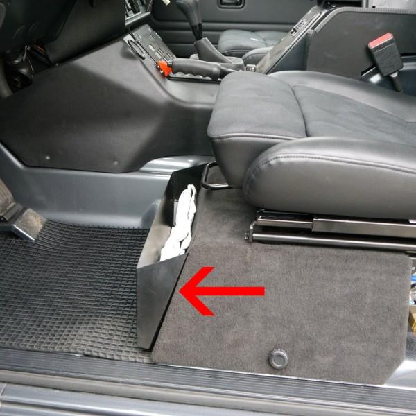 ORC Ablagefach vor Sitzkasten Beifahrerseite für G 461 PUR/Professional und G 463 bis Bj. 2000