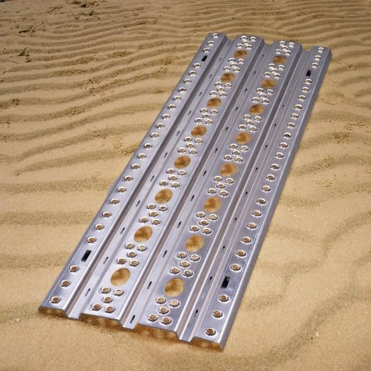 Pionier-Sandblech 150 x 44 cm  (2 Stück )