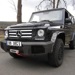 Seilwindenstoßstange Mercedes G ab 2016 bis 2018