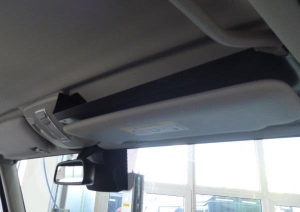 ORC storage shelf over sun shield left side Mercedes G 463