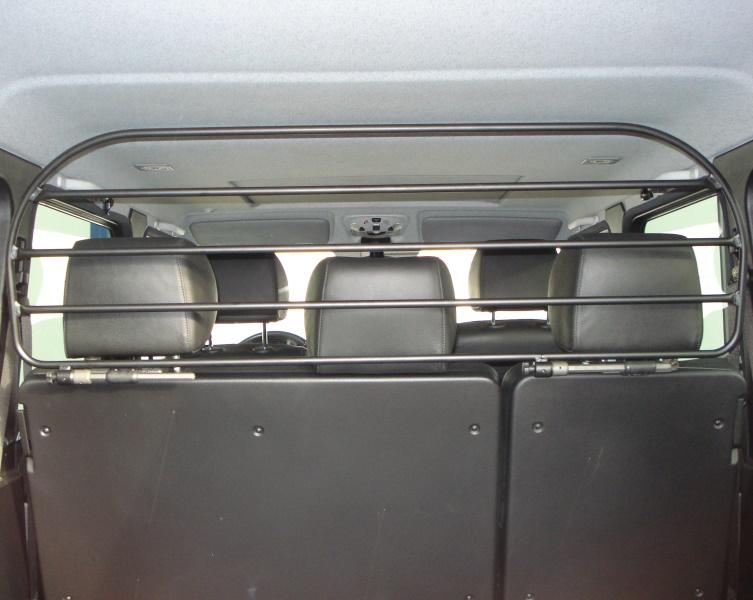 Gepäckschutzgitter universell, Stahl verzinkt pulverbeschichtet