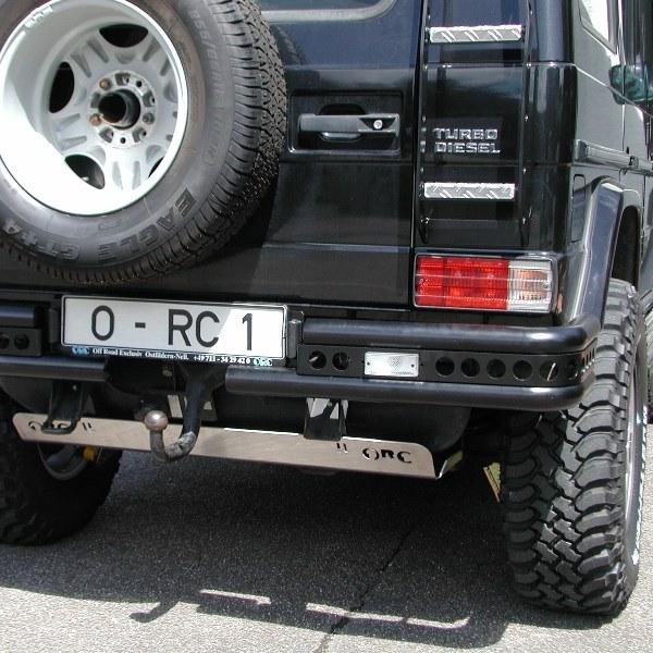 ORC-Heckstoßstangenecken-Doppelrohr Mercedes G bis Modell 2018, Ø 60 mm