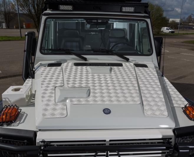 Trittschutzauflage für Motorhaube Mercedes G 461 Professional EURO 5 (3 tlg.)