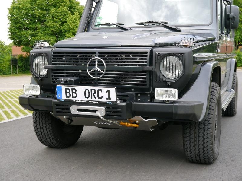 Windenstoßstange Mercedes G 460/461 für WARN-Winden M8000, XDC, ZEON
