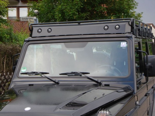 """ORC wind deflector for roof rack """"original PUR-model"""" without cutouts for lamps"""