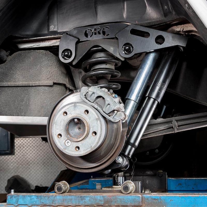 Bausatz Doppeldämpfer für Hinterachse Mercedes G 460/461/463 bis Modell 2018 in Verbindung mit Stabi