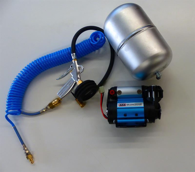 ARB Alu Luftkessel 4 Liter 2 Anschlüsse JIC4