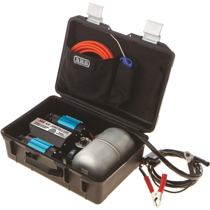 ARB Doppelkolbenkompressor 12V CKMTP12 mit Zubehör, im Koffer